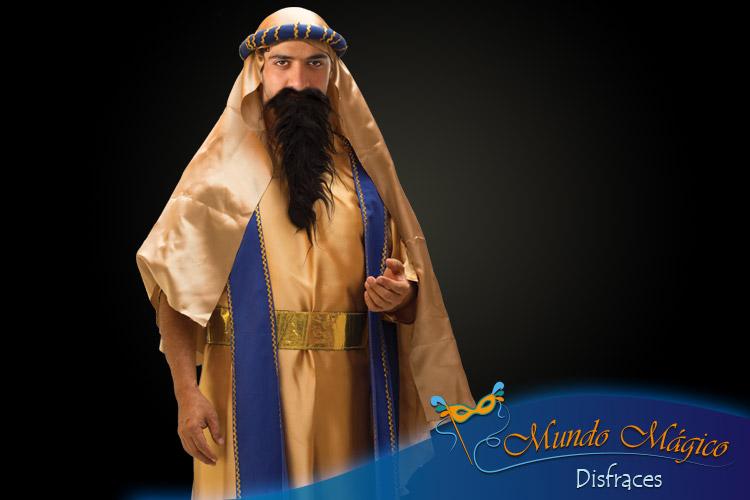 arabe dorado con azul