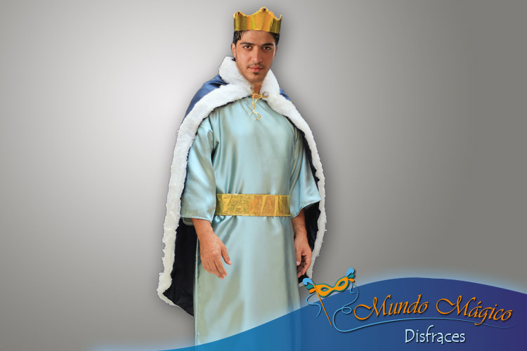 Rey mago azul - celeste