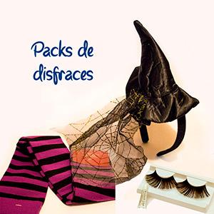 Pack de disfraces