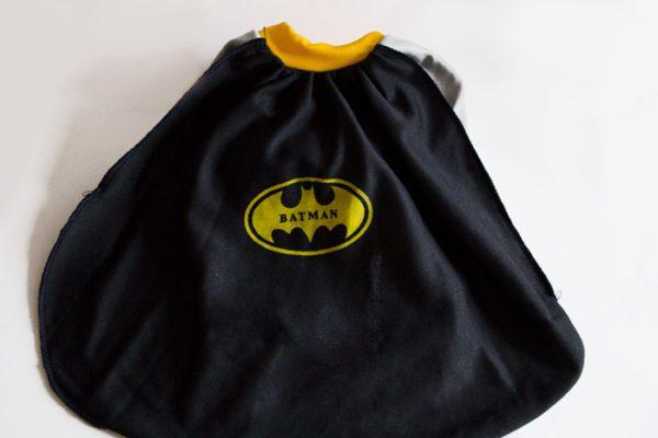Disfraz Batman perrito capa